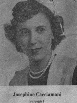 Josephine Cacciamani-Salesgirl