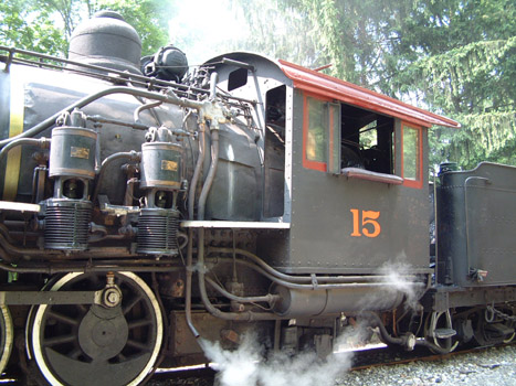 A close-up shot of Engine 15.